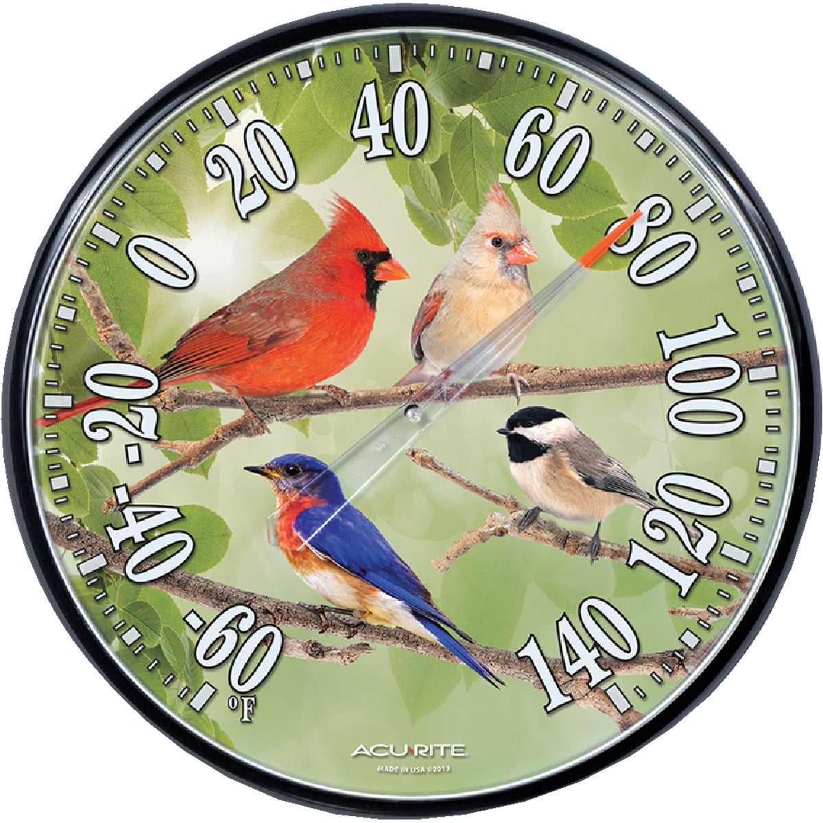 SONGBIRDS THERMOMETER - 01781A2 by Chaney Instrument Co