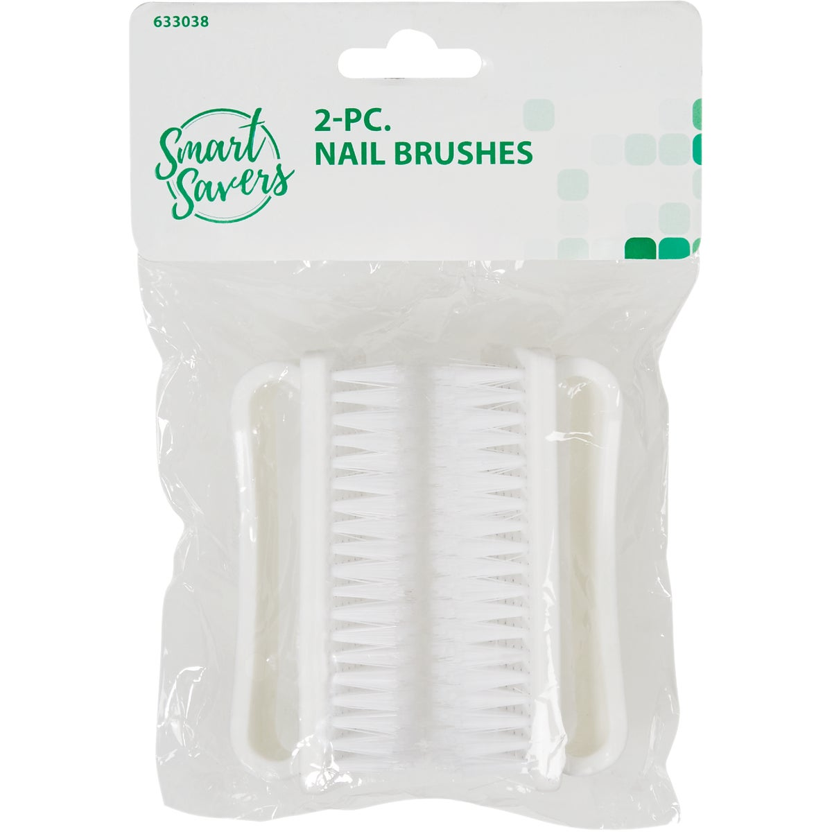 2PC NAIL BRUSH