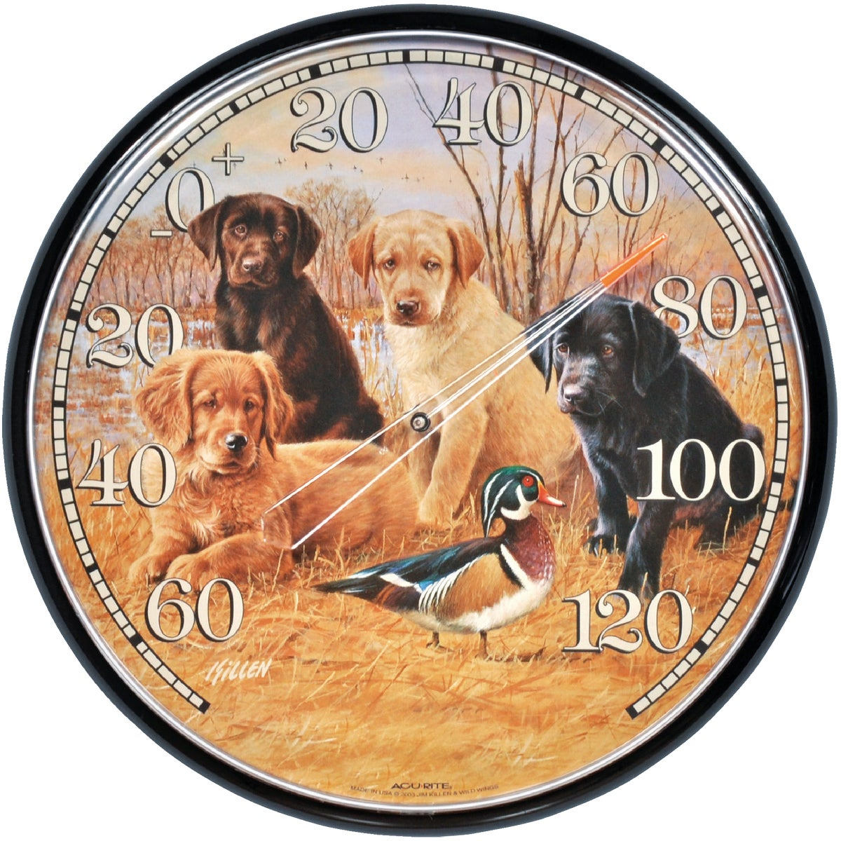 PUPPIES THERMOMETER - 01712 by Chaney Instrument Co