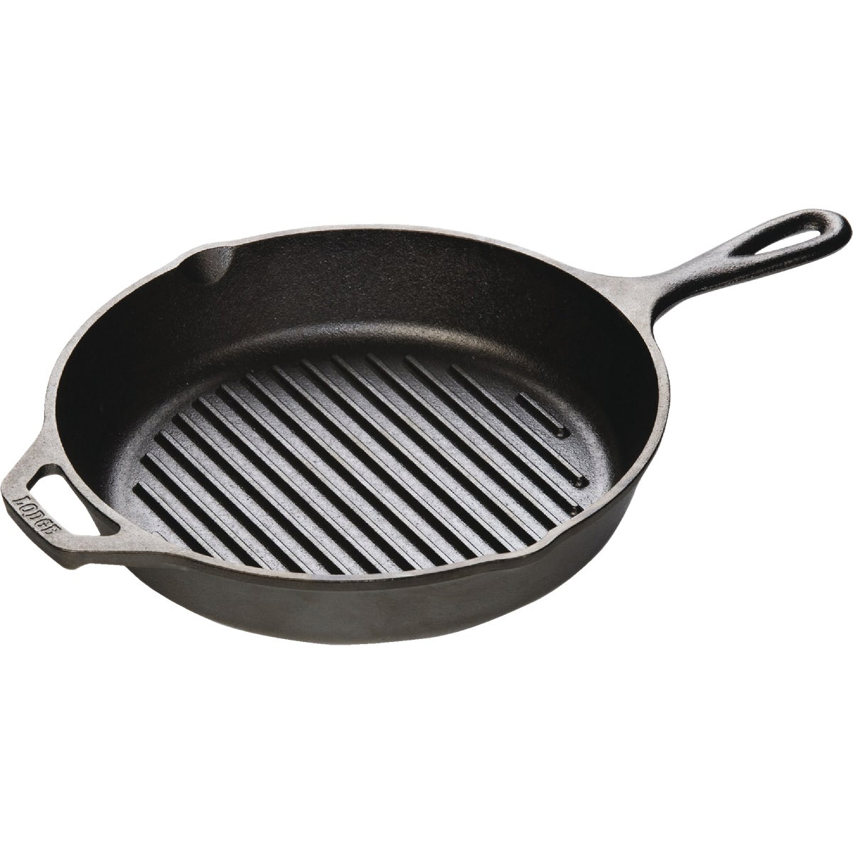 "10-1/4""CST-IRN GRILL PAN - L8GP3 by Lodge Mfg Co"