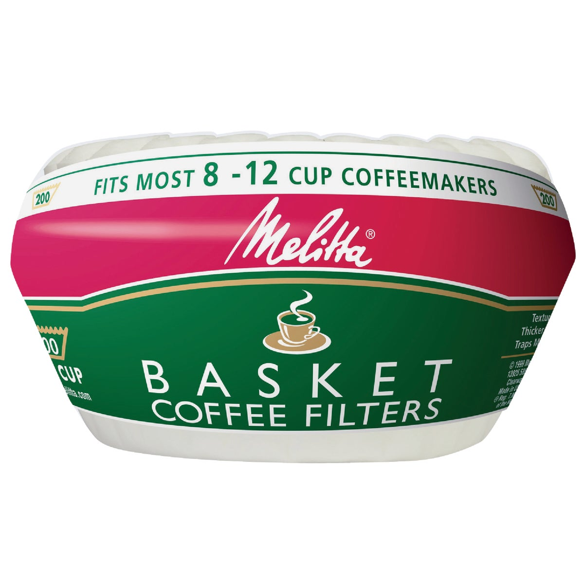200CT COFFEE FILTER - 629524 by Melitta U S A Inc