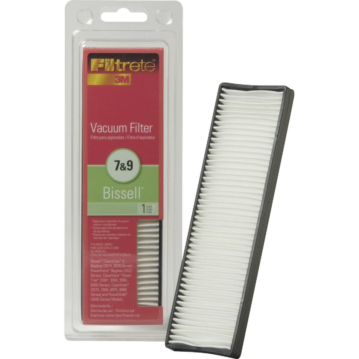 3M Filtrete Bissell 7 & 9 Vacuum Filter