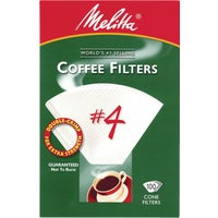 Melitta U S A Inc WHITE #4 COFFEE FILTER 624102