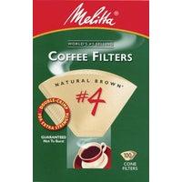 Melitta U S A Inc BROWN #4 COFFEE FILTER 624602