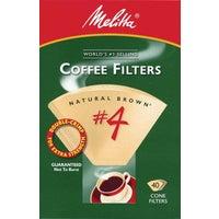 Melitta U S A Inc BROWN #4 COFFEE FILTER 624412