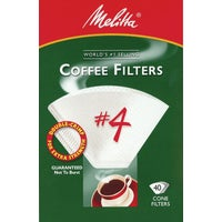 Melitta U S A Inc WHITE #4 COFFEE FILTER 624404