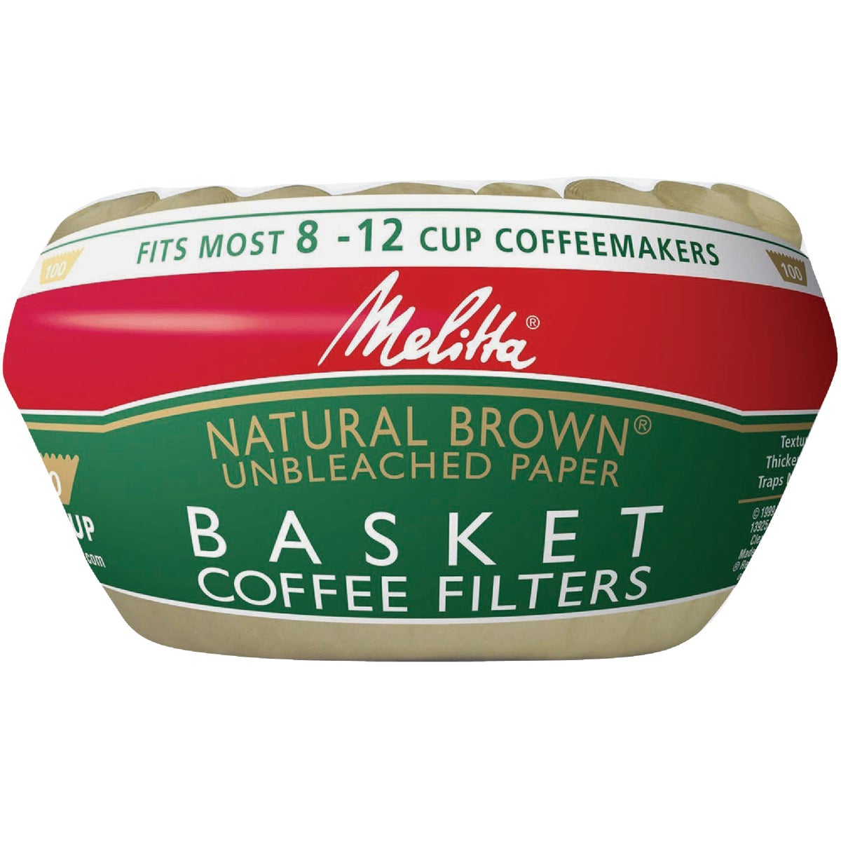 BROWN COFFEE FILTER
