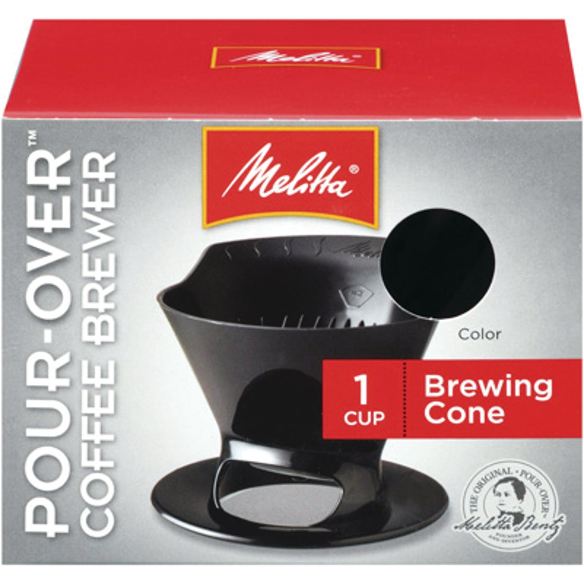 1 CUP CONE COFFEE BREWER - 640007 by Melitta U S A Inc