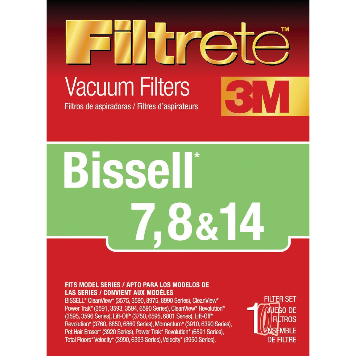 BISSELL VACUUM FILTER - 66878A-4 by Electrolux Home Care