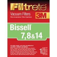 7, 8 & 14 Filtrete Bissell Vacuum Filter, 66878A-4