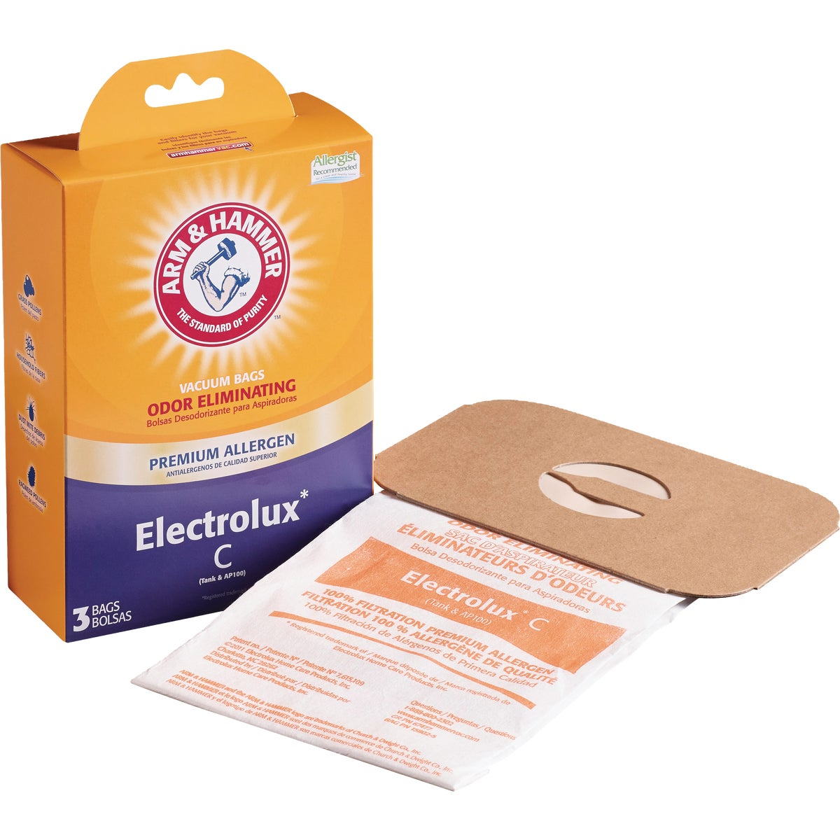 ELECTROLUX C VACUUM BAG - 67706-6 by Electrolux Home Care