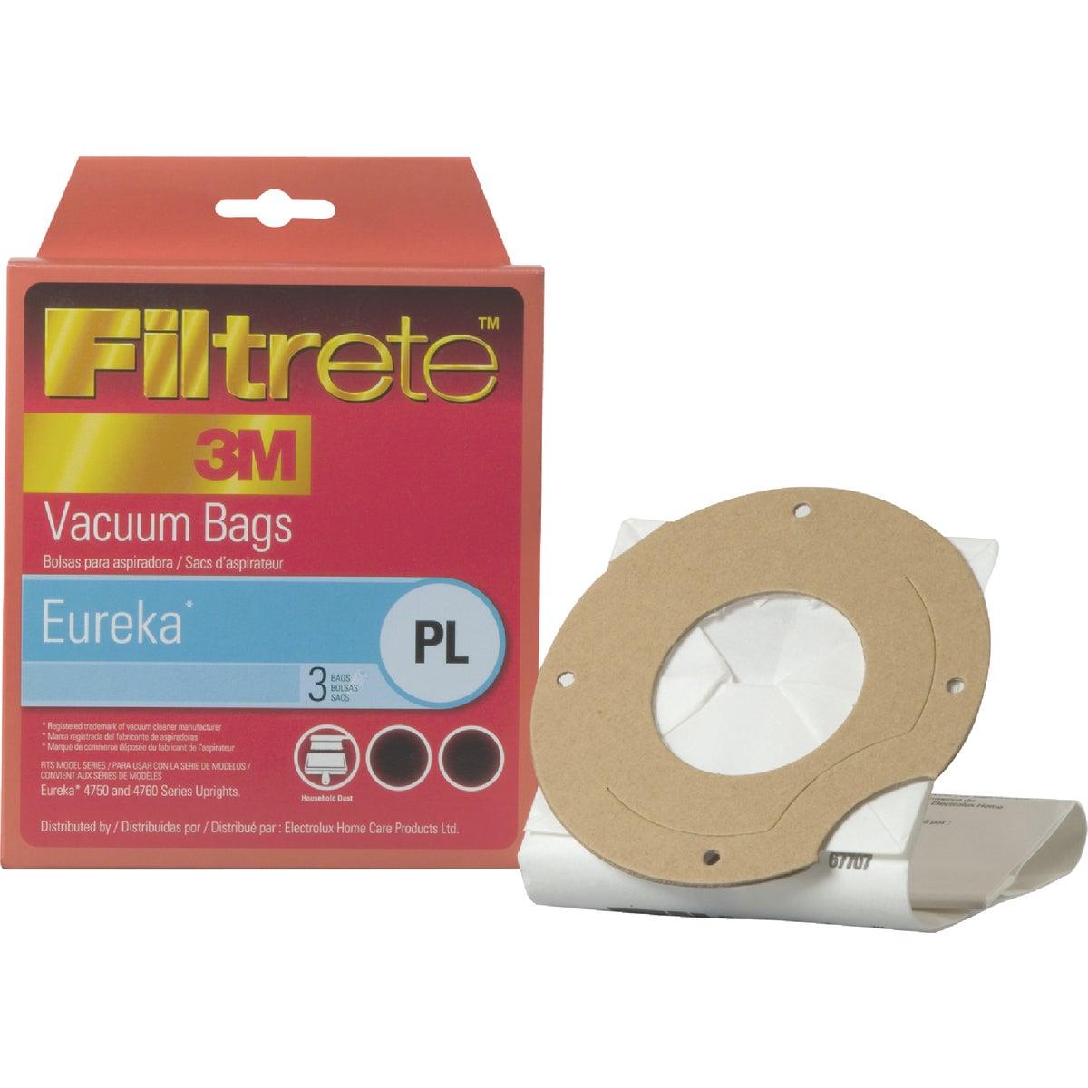 3M Filtrete Eureka Type PL Allergen Vacuum Bag (3-Pack)