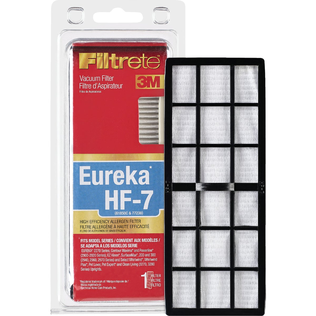 Eureka HF-7 High Efficency Allergen Vacuum Filter, 67807B-4