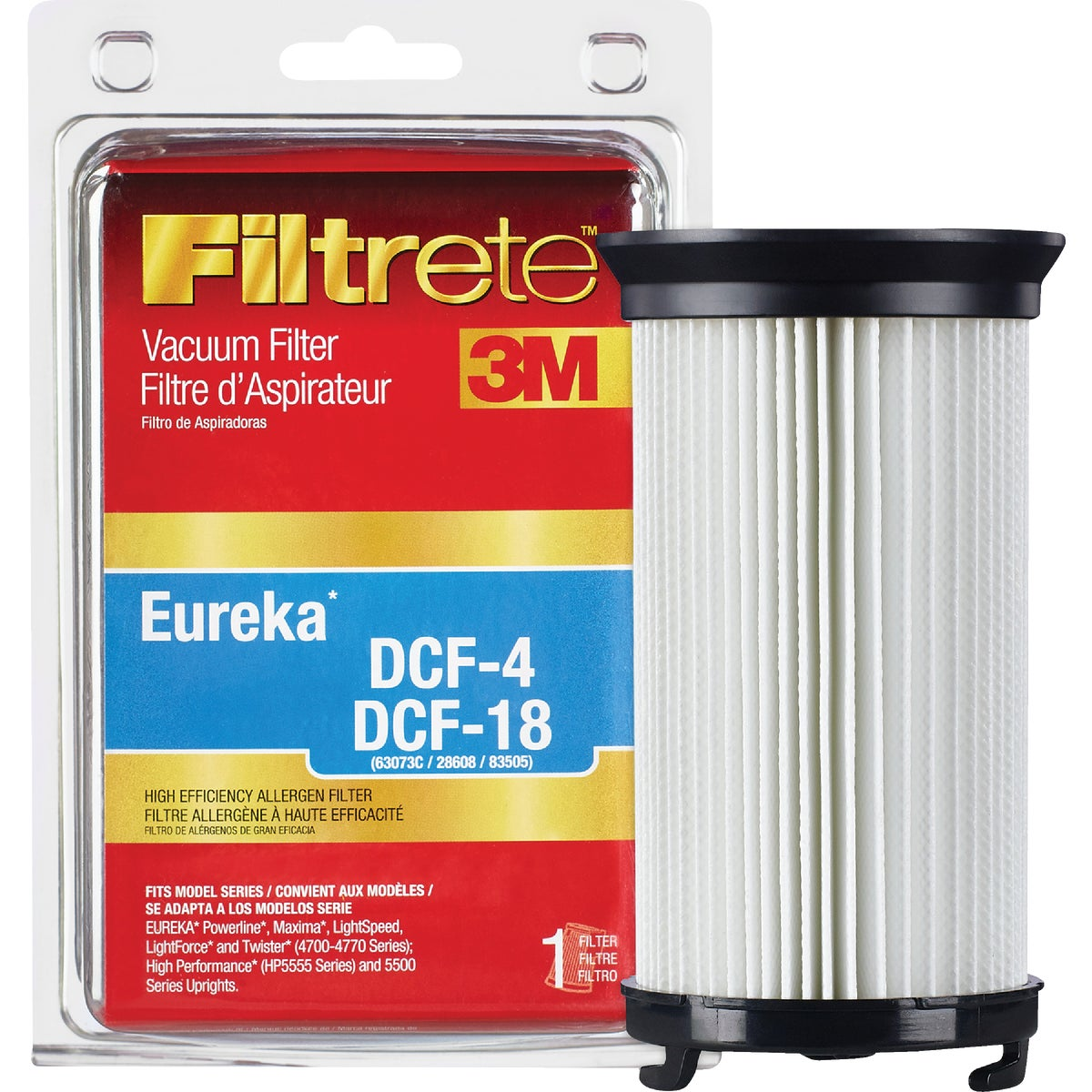Eureka DCF-4 and DCF-18 HEPA Filter, 67814C-2