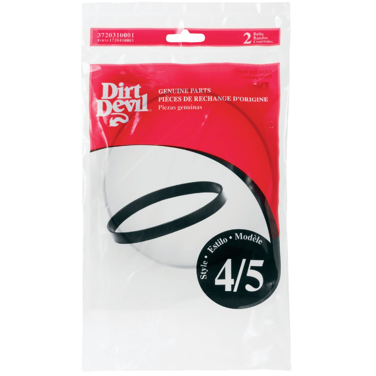 STYLE 4/5 VAC CLNR BELT - 3-720310-001 by Royal Appliance