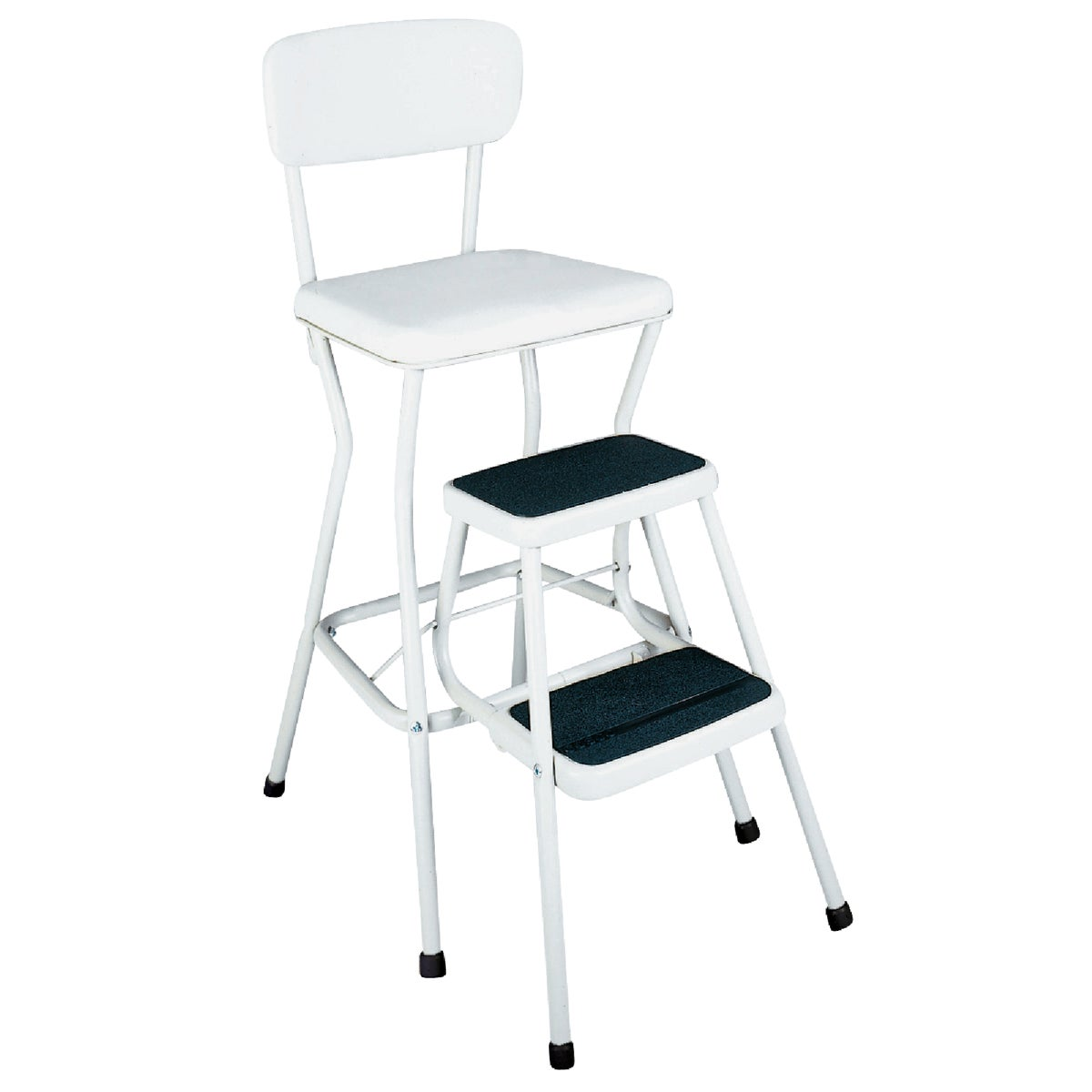 CHAIR/STEP STOOL - 11-118-WHT by Cosco    J Myalls