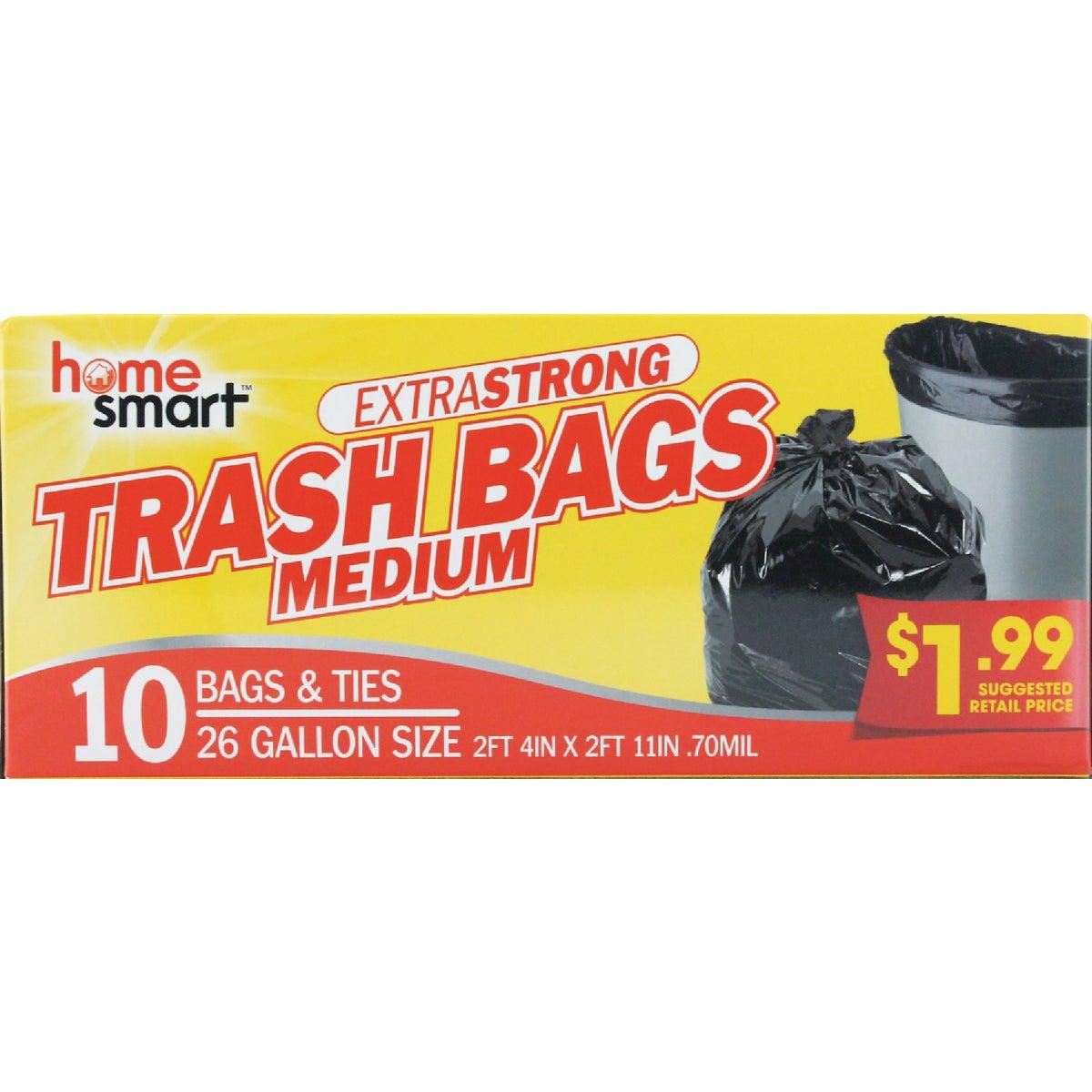 8CT 30GAL TRASH BAGS