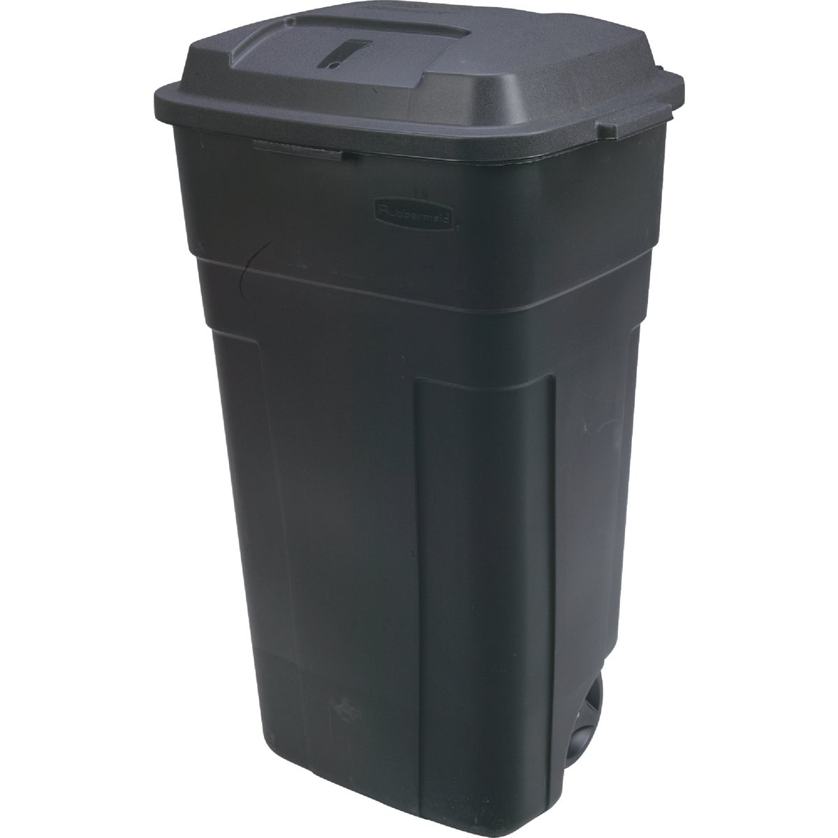 34GAL BLK WHL TRASH CAN