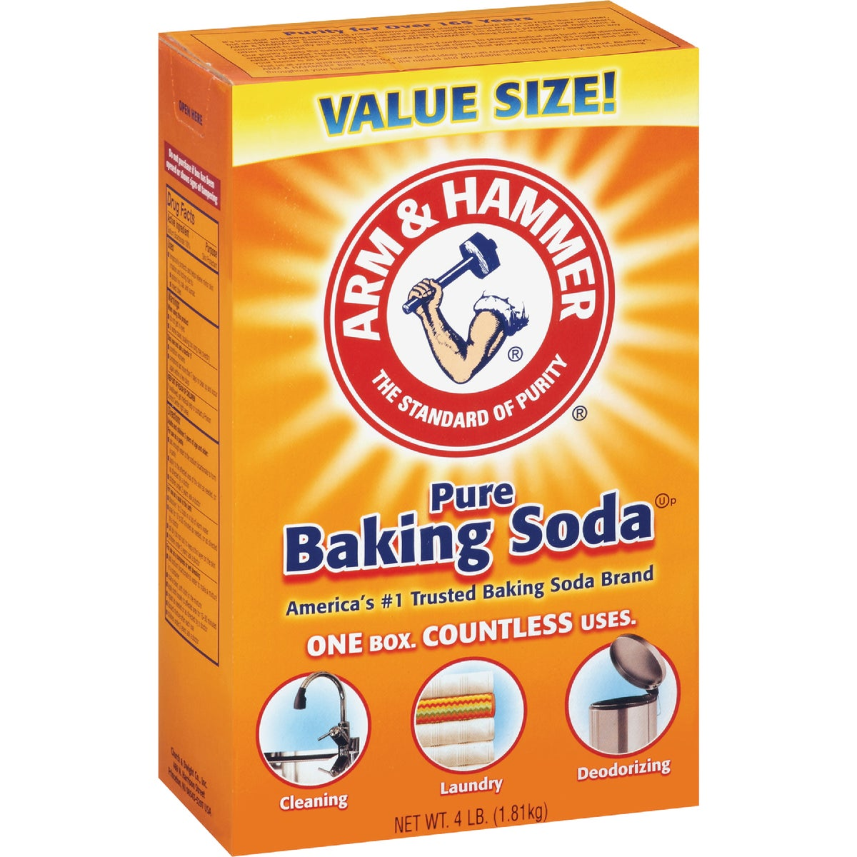 4LB BAKING SODA - 01170 by Church & Dwight Co