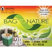 Indaco Manufacturing 3GAL/20CT MINI TRASH BAG 41201