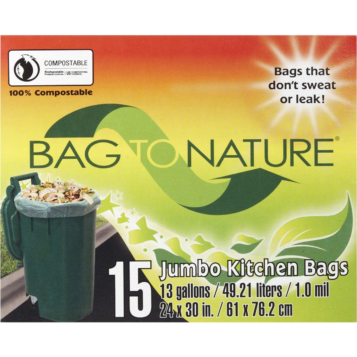 13GAL/15CT TRASH BAG - 21205 by Indaco Manufacturing