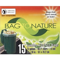 Indaco Manufacturing 13GAL/15CT TRASH BAG 21205