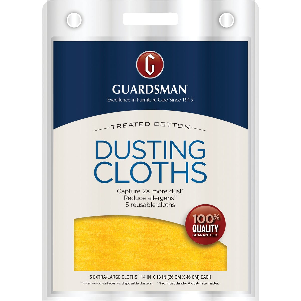5PK ULTIMATE DUST CLOTH - 462700 by Valspar  Guardsman