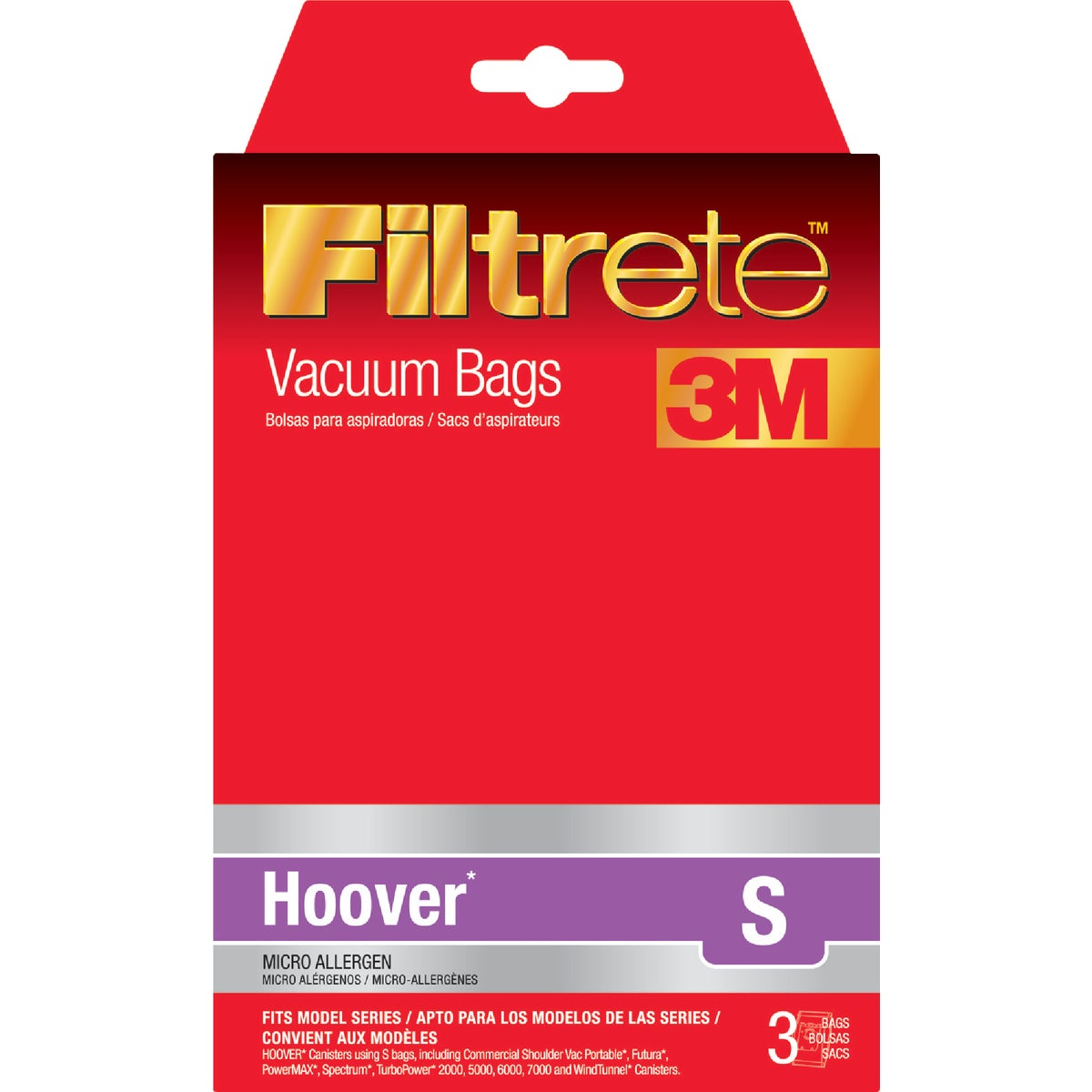 HOOVER S VACUUM BAG - 64705A-6 by Electrolux Home Care