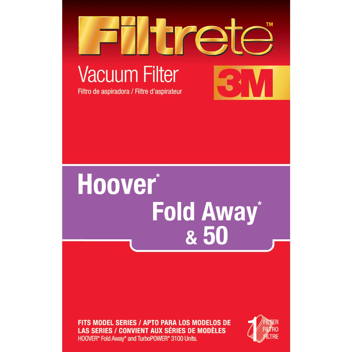HOOVER ALLERGEN FILTER - 64801A-2 by Electrolux Home Care