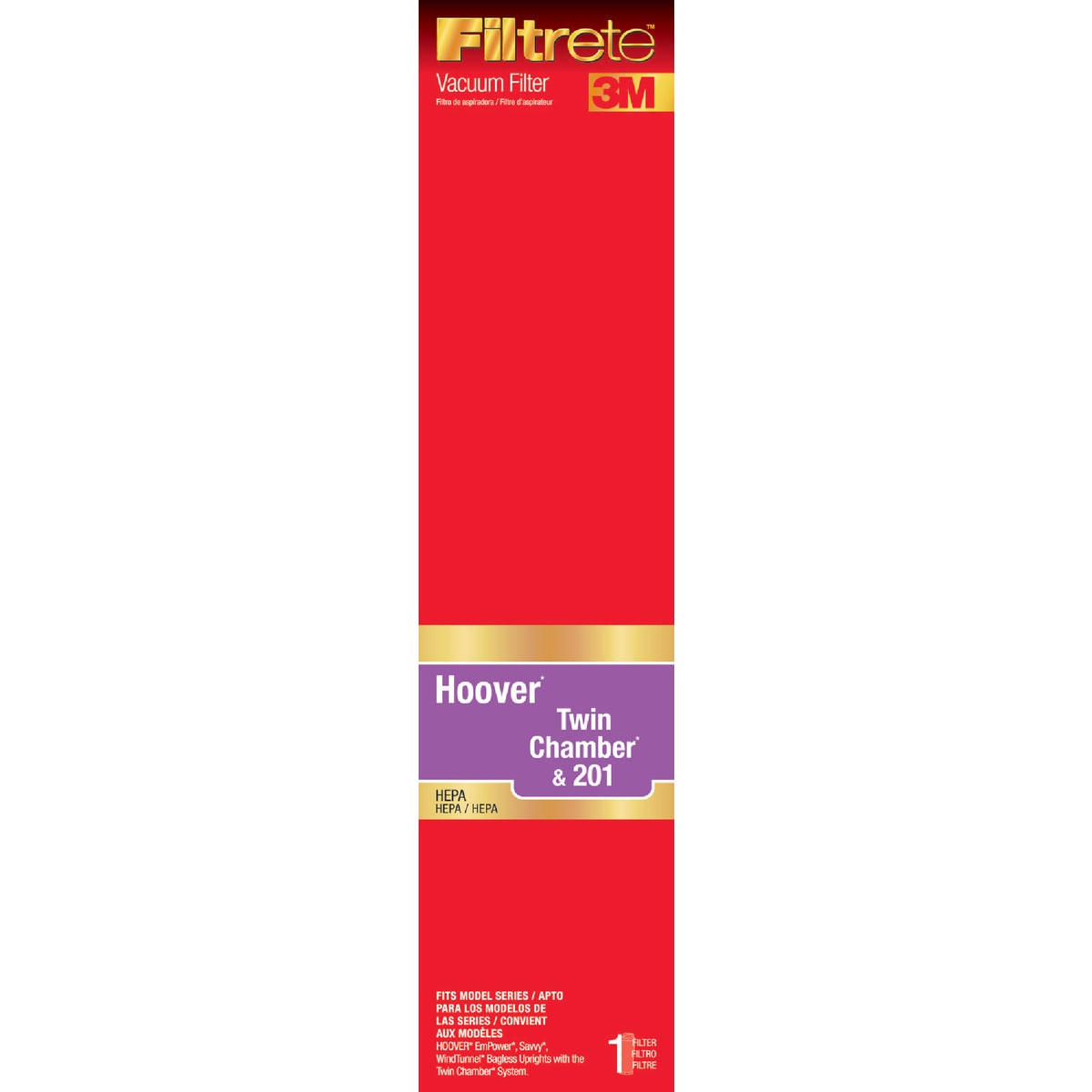 Hoover HEPA Vacuum Filter, 64805B-2