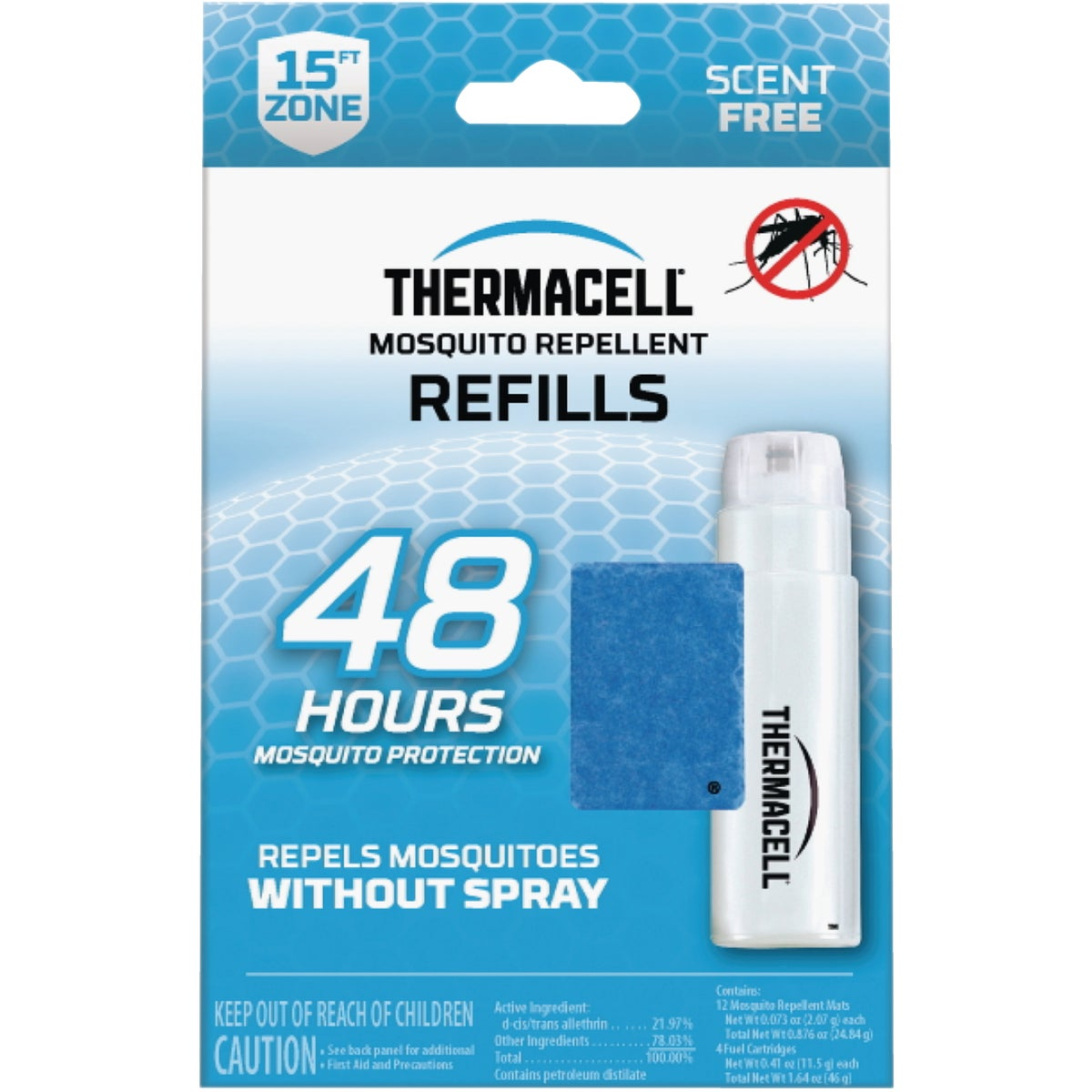 4 PAK THERMACELL REFILL - MR400-12 by Schawbel Corp