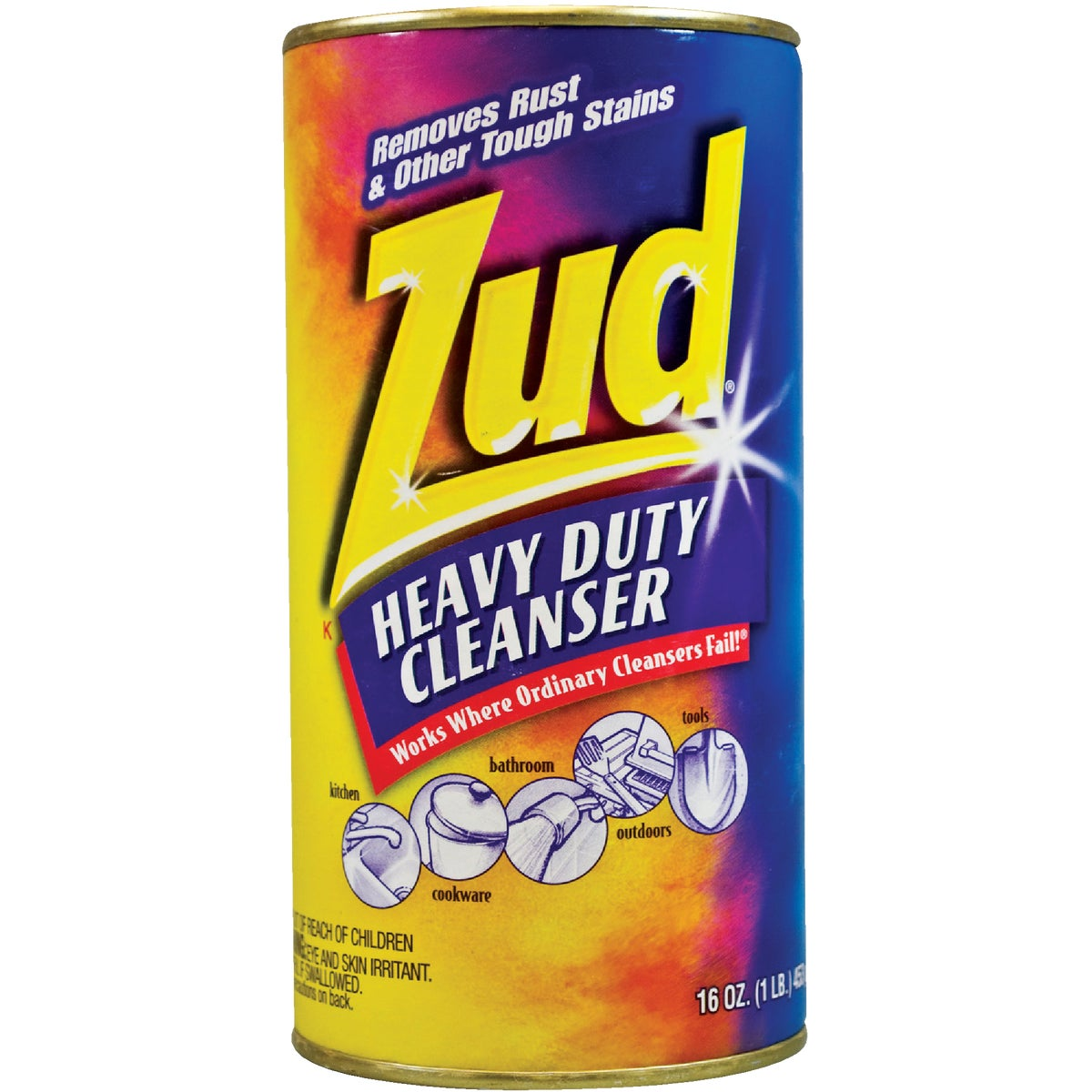16OZ ZUD HD CLEANSER - 540916 by Malco Products Inc