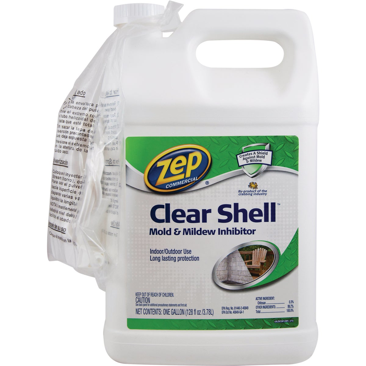 Zep Clear Shell Mildew And Mold Inhibitor
