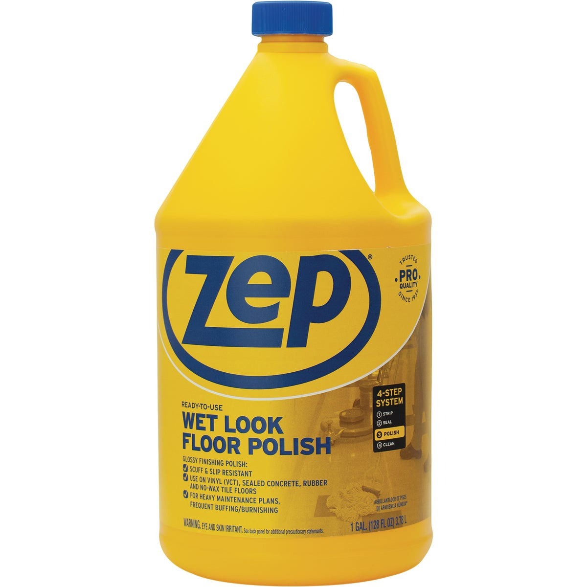 128OZ WETLK FLOOR POLISH - ZUWLFF128 by Zep Enforcer Inc