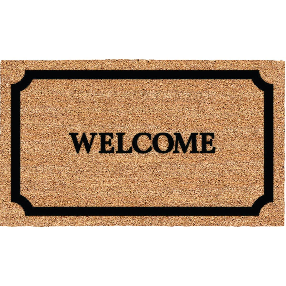 WELCOME BORDER DOORMAT - 31596 by Uscoa Llc