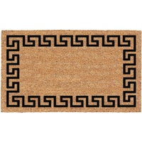 USCOA Intl GREEK KEY DOORMAT 31681