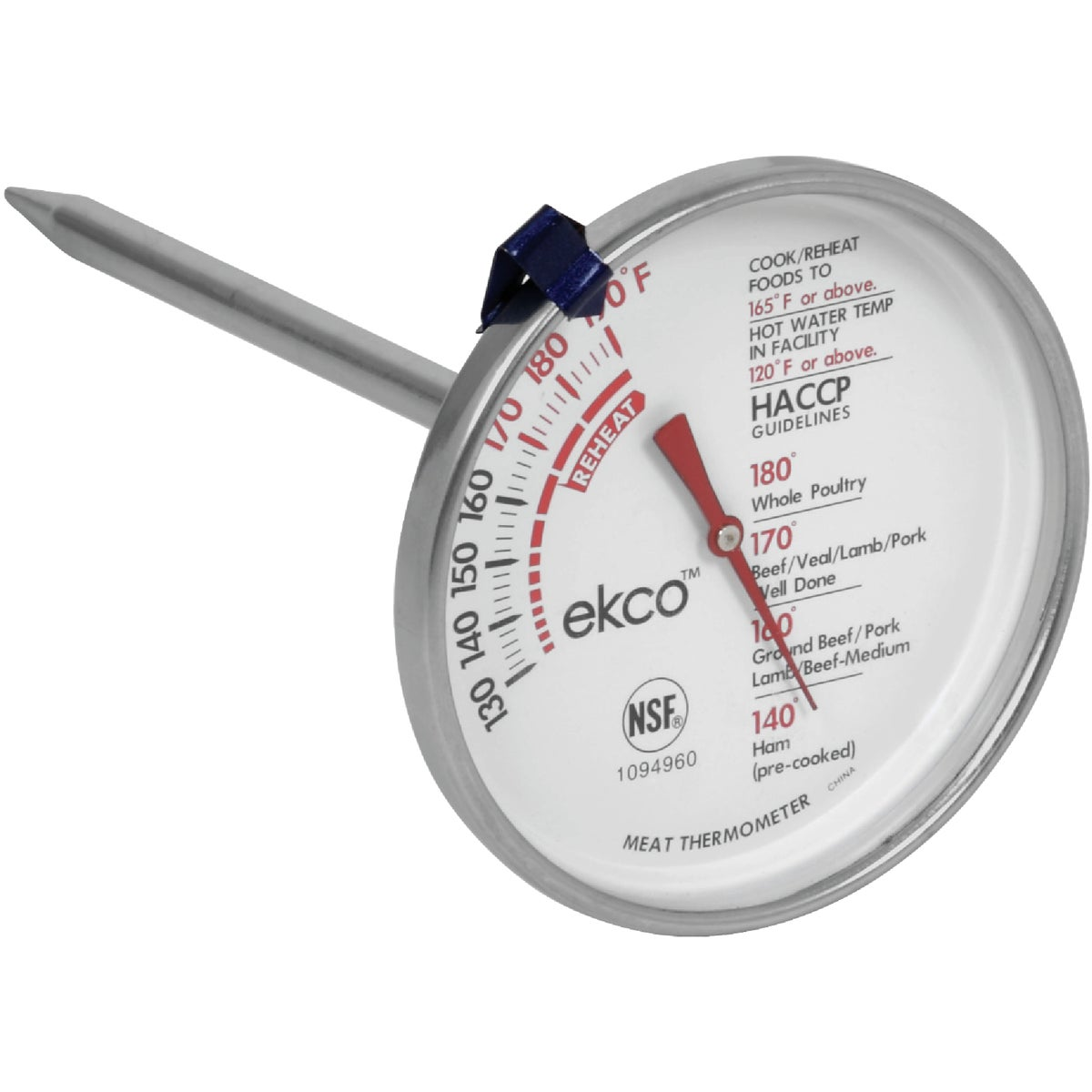 MEAT THERMOMETER - 1094960 by World Kitchen  Ekco
