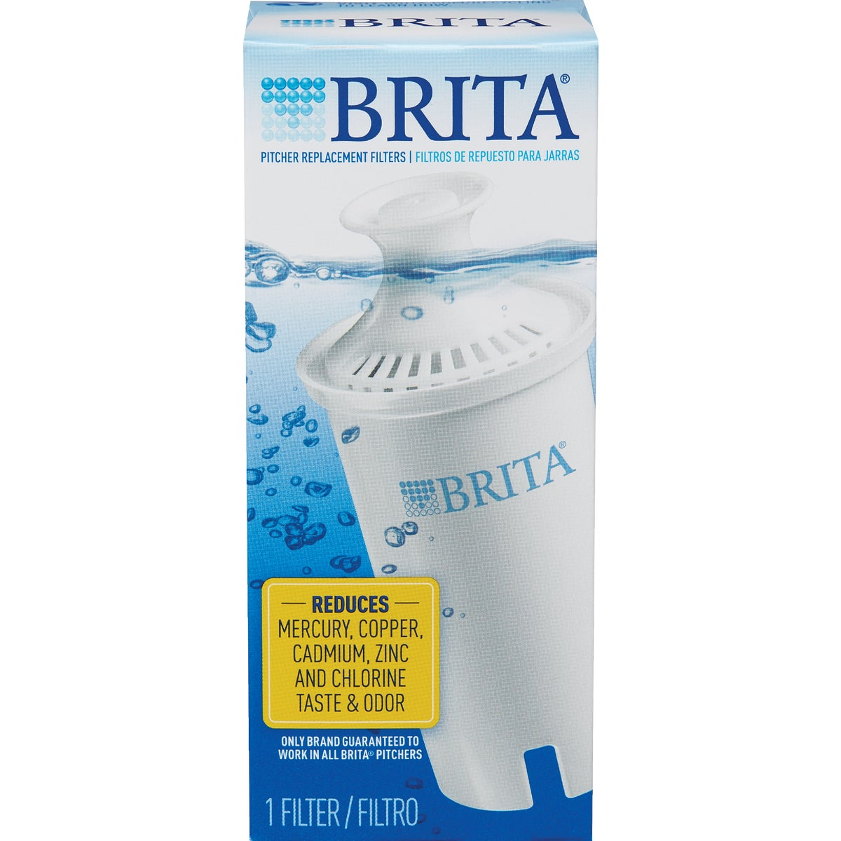 1PK REPLACEMENT FILTER - 35501 by Brita Div Of Clorox