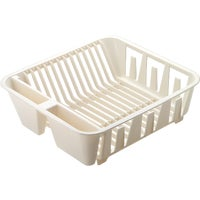 Rubbermaid BISQUE TWIN DISH DRAINER 6049-AR-BISQU