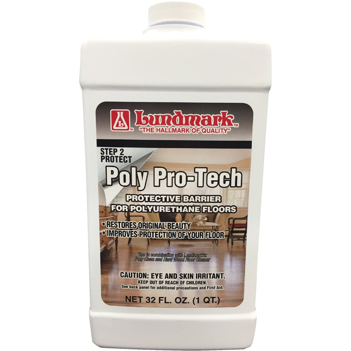 32OZ POLY-PRO TECH WAX - 3228F32-6 by Lundmark Wax Co