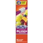 Hefty One Zip Food Storage Bag.