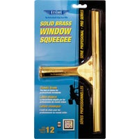 Ettore ProSeries Brass Window Squeegee, 10012