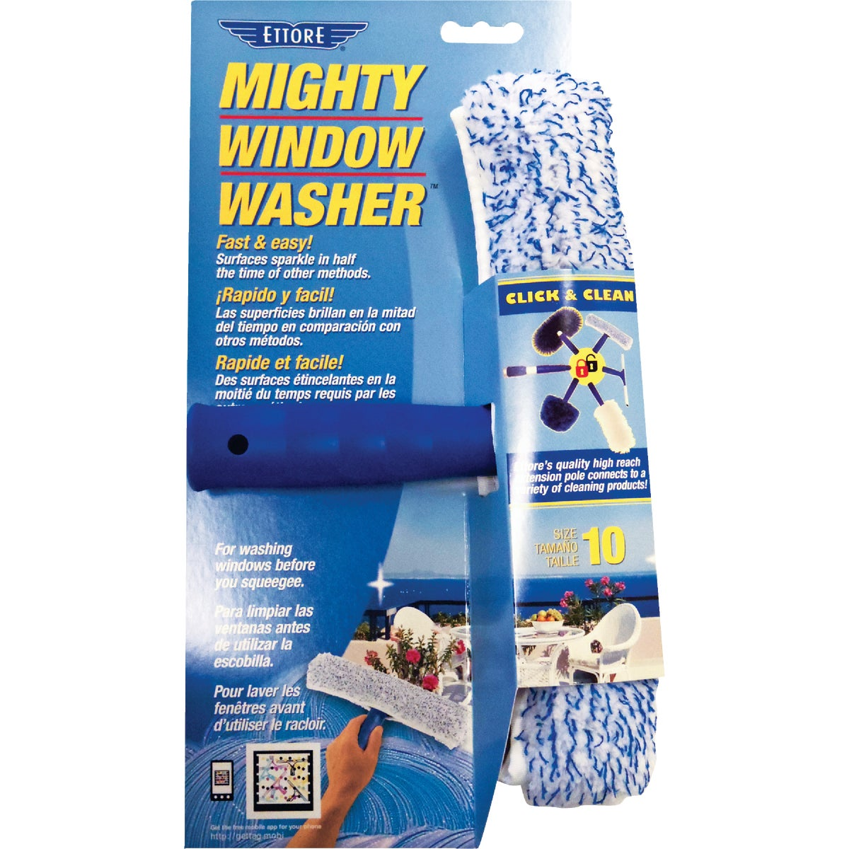 "10"" WINDOW WASHER"