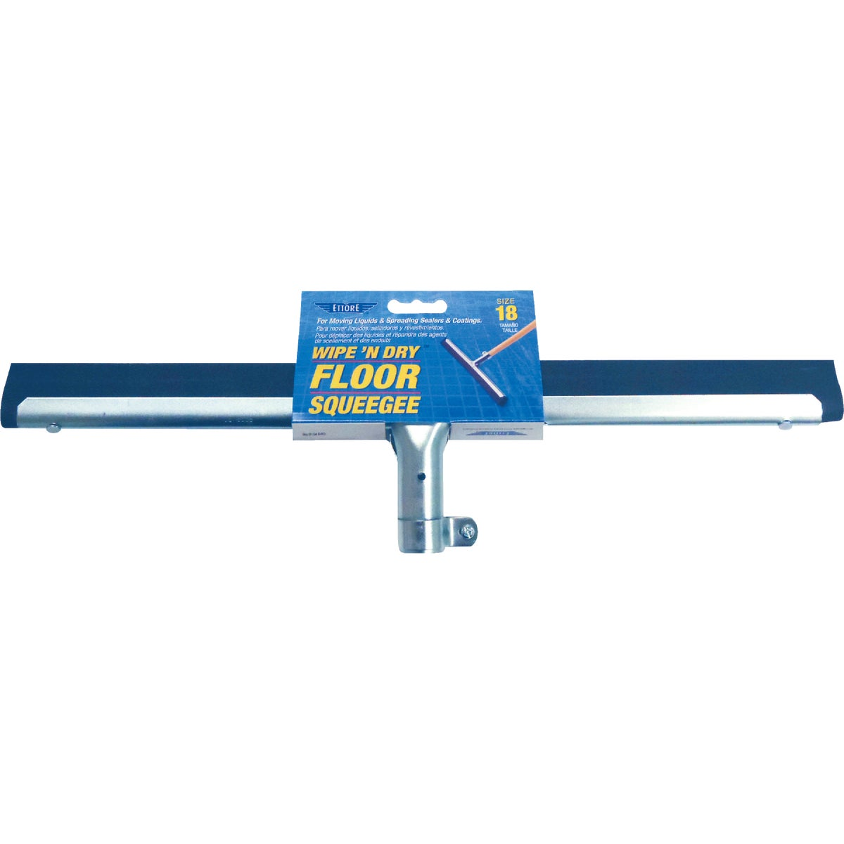 "18"" FLOOR SQUEEGEE - 61018 by Ettore Products Co"