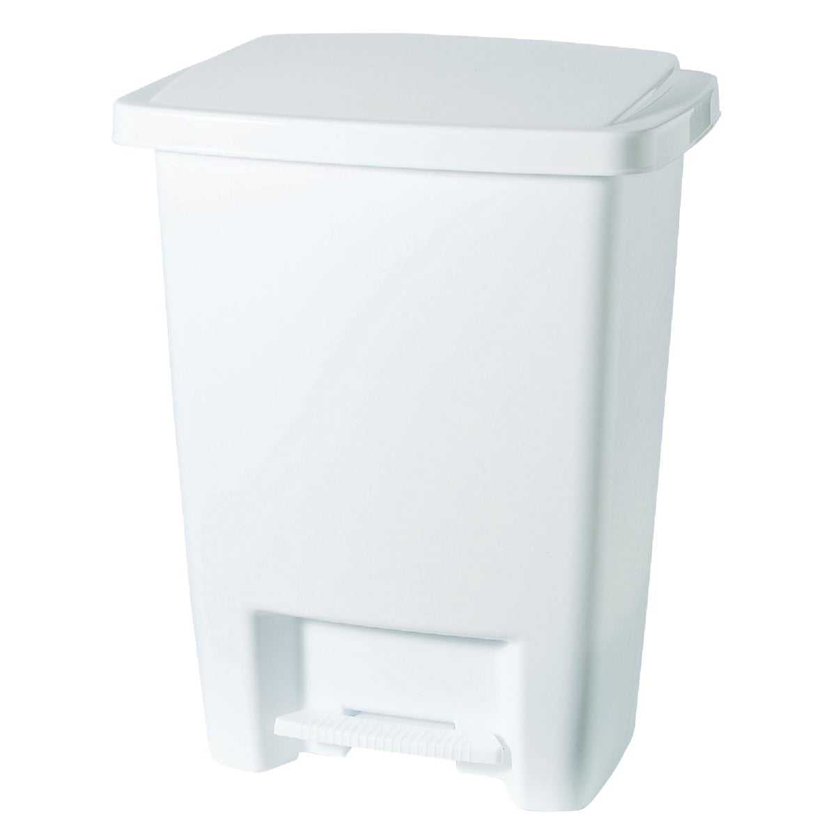 33QT WHITE WASTEBASKET - 284187-WHT by Rubbermaid Home