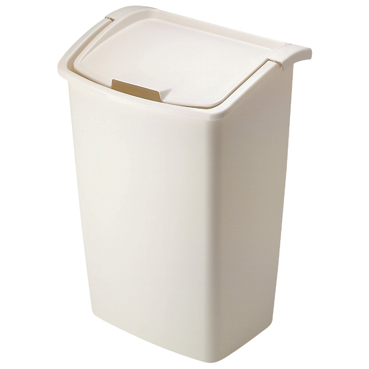 42QT BISQUE WASTEBASKET - 280300-BISQU by Rubbermaid Home