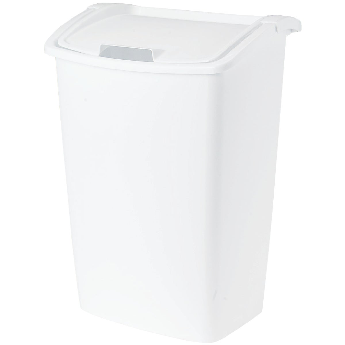 42QT WHITE WASTEBASKET - 280300-WHT by Rubbermaid Home