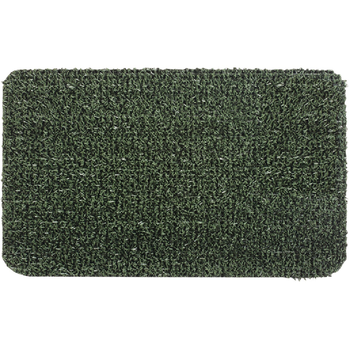 24X35.5 GREEN DOOR MAT - 10370308 by Grassworx