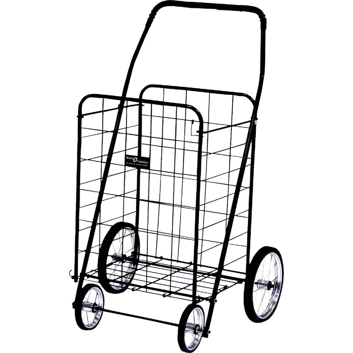 JUMBO BLK SHOPPING CART
