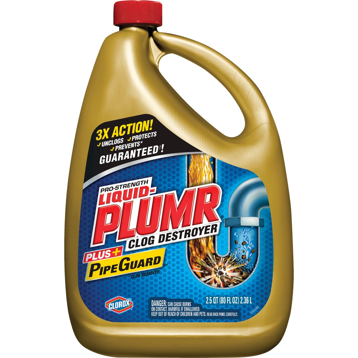 80OZ PROF LIQUID-PLUMR - 00228 by Clorox/home Cleaning